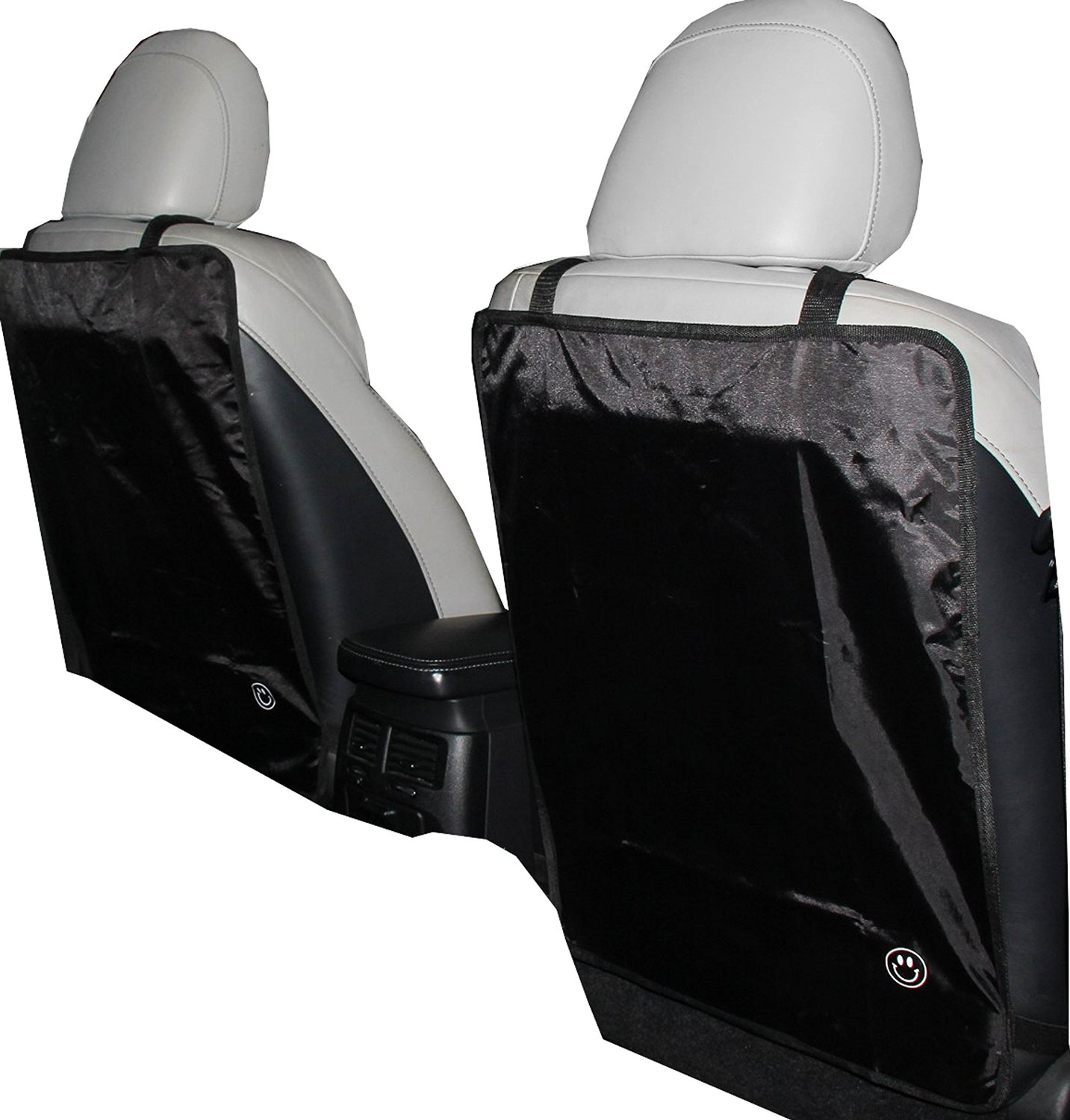 Premium Kick Mat - Luxury Car Seat Back Protectors 2 Pack