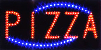 Ultra Bright LED Neon Animated Motion PIZZA Business Sign L20
