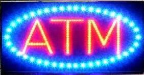 Ultra Bright LED Neon Light Animated ATM Sign L86