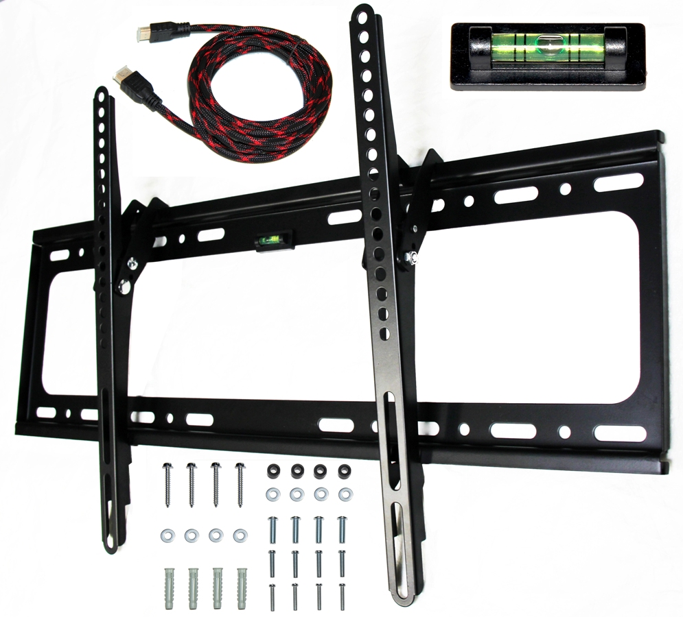 "LCD LED Plasma TV Wall Mount 32"" to 65"" w/ HDMI 1.4 Cable T65"