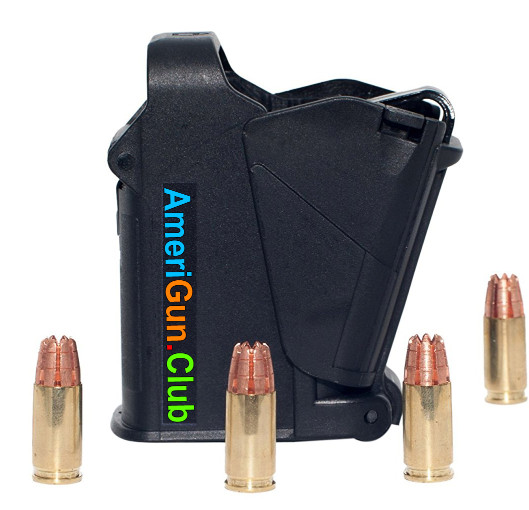 All in one Universal Magazine Speed loader Black