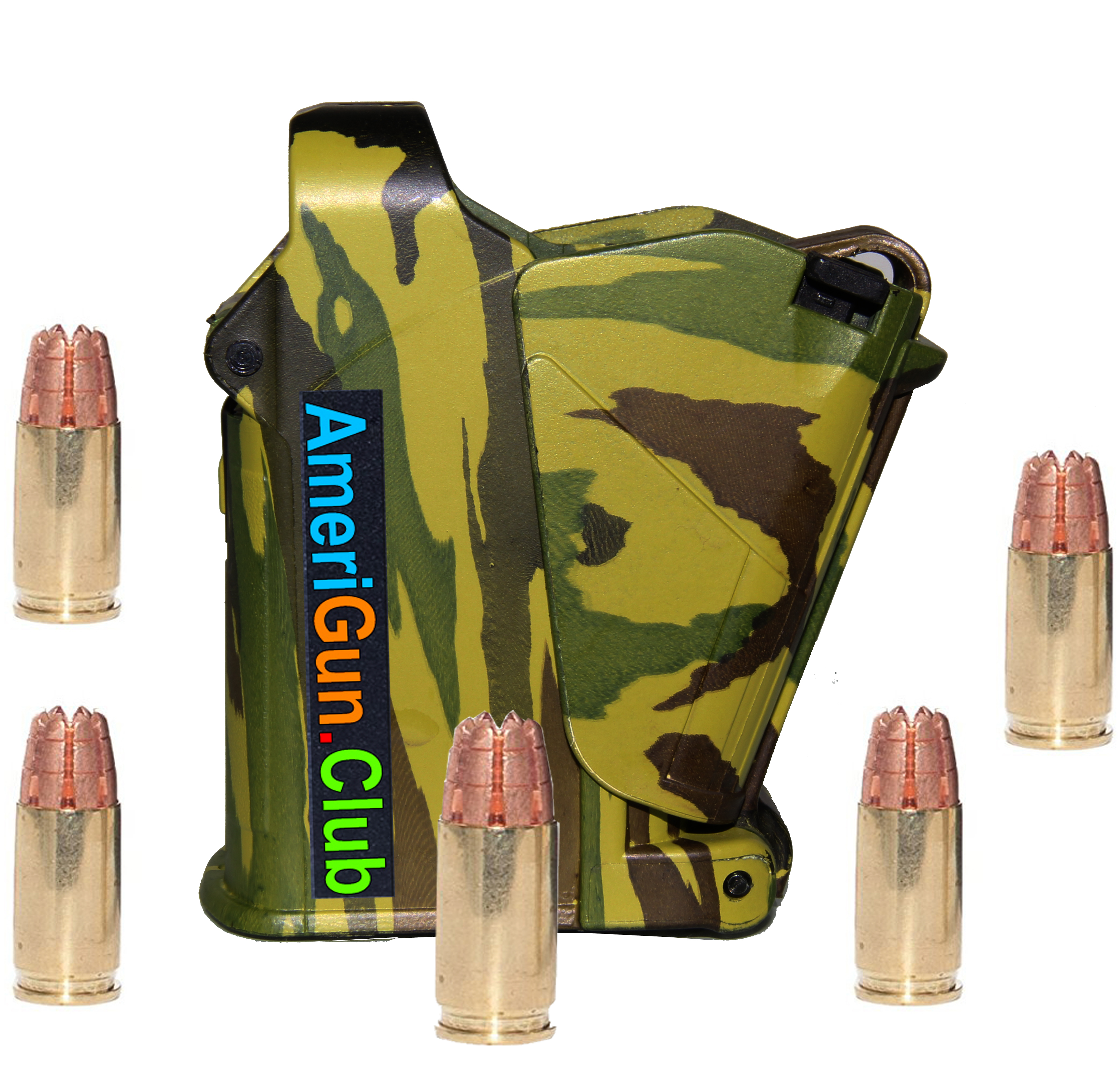 All in one Universal Magazine Speed loader Camouflage